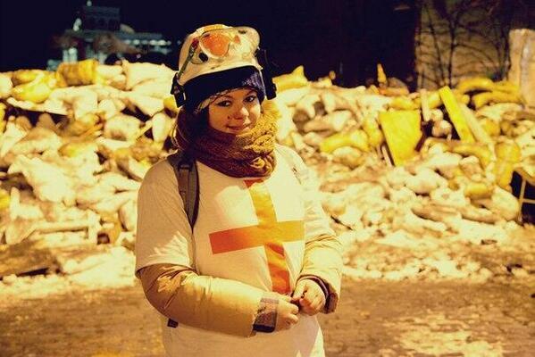 she's just 21 year's old. #Євромайдан #Евромайдан #Euromaidan http://t.co/XAhbnXKTgw
