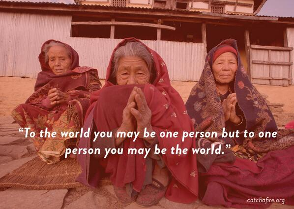 Inspiring quotes from people who've helped to create a better world: http://t.co/MkxbJdMRLa #love #socialgood http://t.co/aAPDbLfJOe