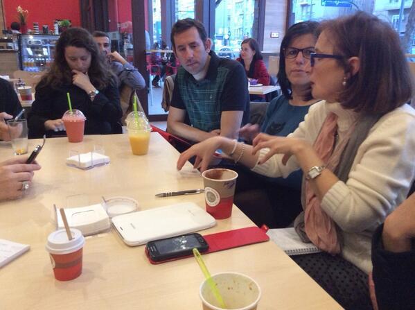 @magpano nos cuenta su experiencia como embajadora @eTwinning_es en #MOOCafe #MOOCaféMurcia http://t.co/UQeXDgq9hJ