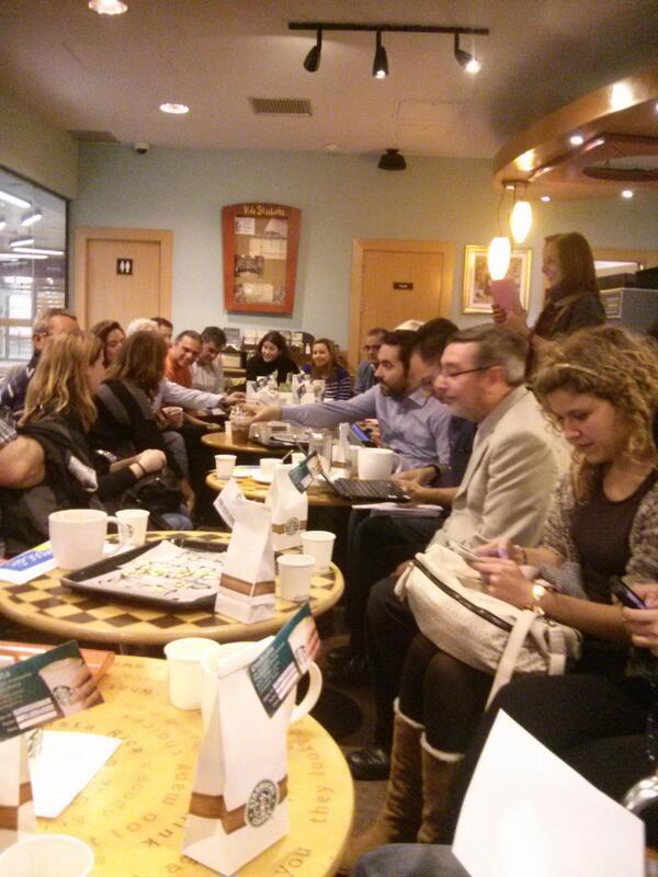 Ronda de presentaciones en #mamoocafe #moocafe #eduplemooc http://t.co/Tyiy3XFOHe