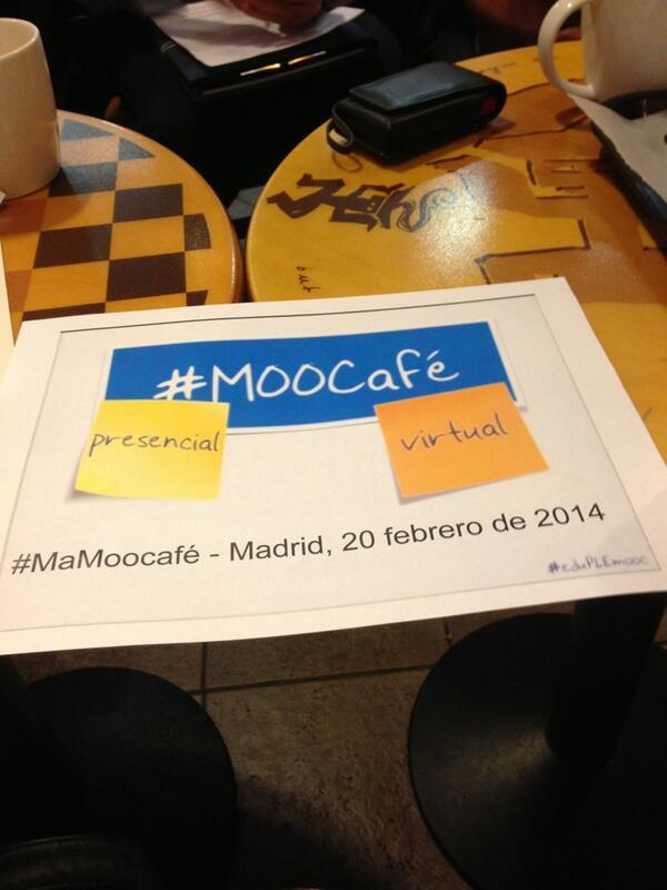 """""""@londones: #MAMOOCafé. Comienza el debate http://t.co/ajA83oCaG0"""" en Almería hablamos del debate en el aula"""