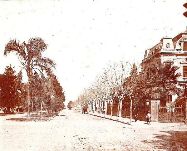 Boulevard Oroño siglo XIX
