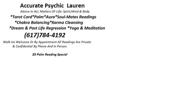 Psychic Lauren (@PsychicLauren2) | Twitter
