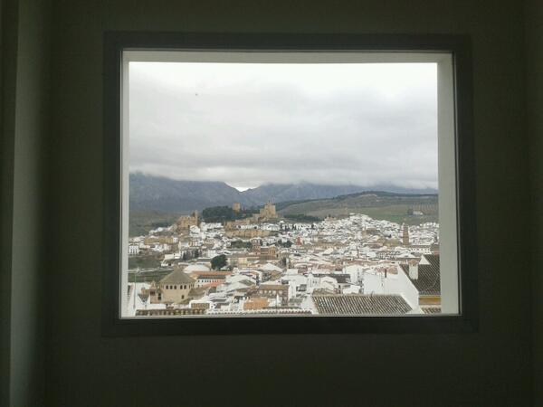 Maravillosas vistas en el @cepantequera desde el q tendrá lugar el #MOOCafeATQ #MOOCafe #eduPLEmooc http://t.co/jZvODRyags