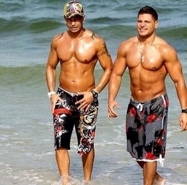 DJPaulyD Tbt With My Homie RealRonnieMagro DoYouEvenLiftBro Pictwitter UkNJV0DoJJ Lord Have Mercy I J Died Nd Went To Guido Heaven