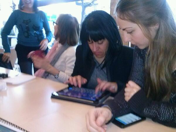 Preparados para empezar nuestro #MOOCaféMurcia #eduPLEmooc solo falta el café!! http://t.co/MtwhGyS1yx