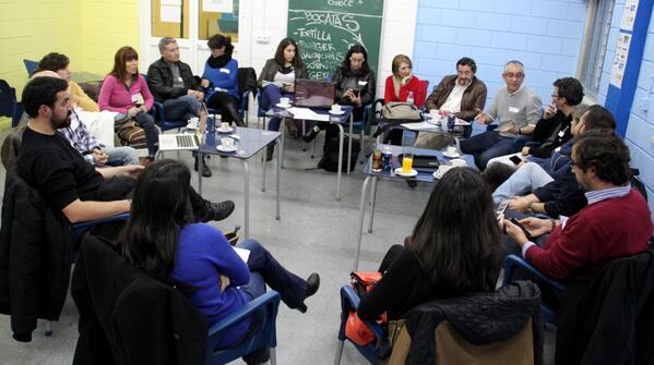 #MOOCafeSevilla #MOOCafe #eduPLEmooc Mucho debate, muchas propuestas, muchas ganas de CAMBIAR!!! http://t.co/3o8UeHYHmM