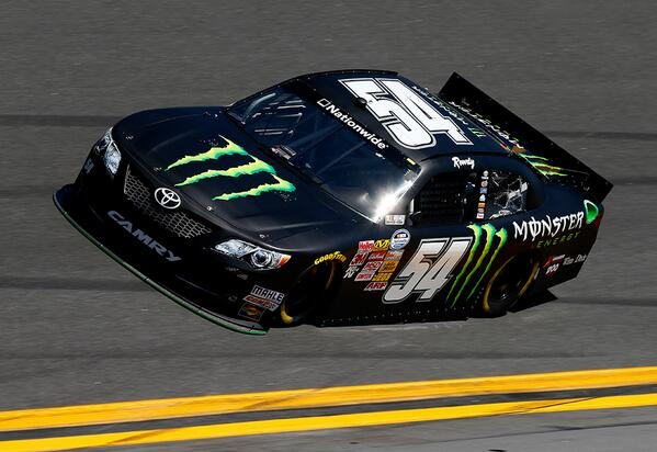 Retweet if seeing this Camry on track makes you want to go grab an ice cold @MonsterEnergy!! #KBShow http://t.co/QVi2xTsiWo
