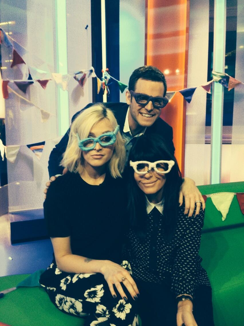 Had so much fun on the One show! I'll be back on again tomorrow with Chris Evans http://t.co/JqctE9MWEK