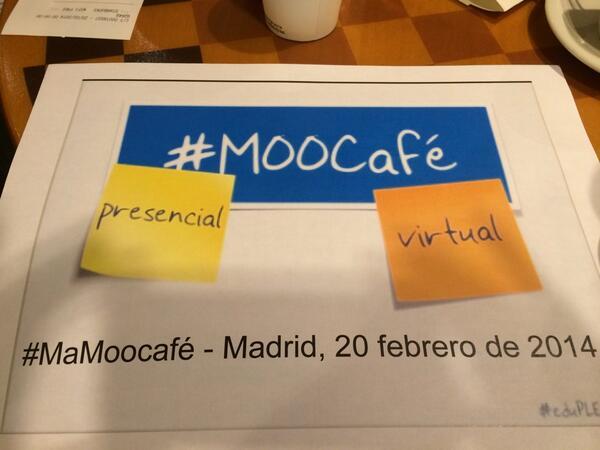 Un placer la charla #MaMoocafé #eduPLEmooc http://t.co/1m7id7WUzS