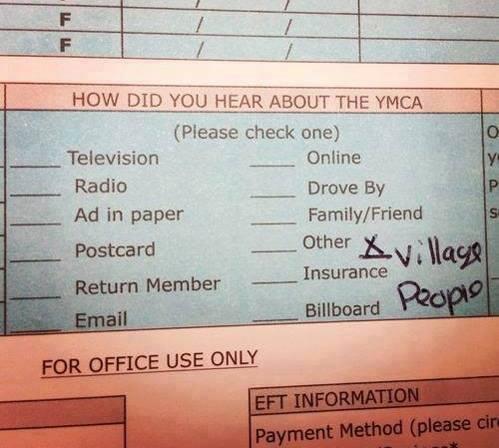 How did you hear about the YMCA? http://t.co/f8iJWA0ezX