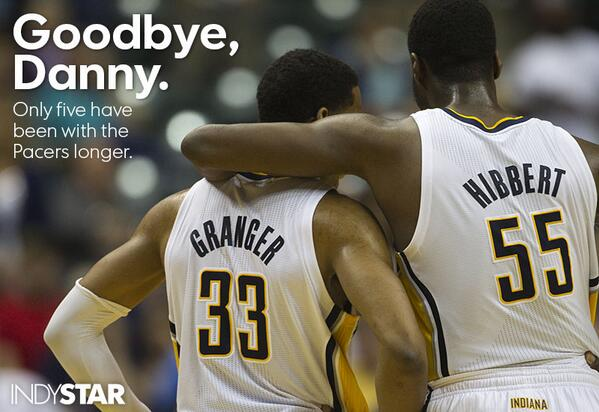 Goodbye, @dgranger33. (Photo by @bobscheer and @AmyBHaneline) http://t.co/WqHErVFpMn
