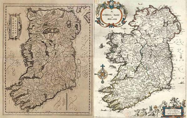 Ancient Map Of Ireland.Philip Boucher Hayes On Twitter Ancient Maps Of Ireland 1610