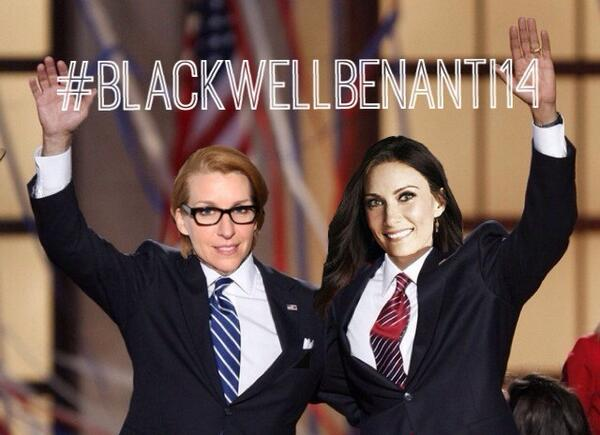 """@jessfazari: #BlackwellBenanti2014 #YesWeCan http://t.co/e3u4l86iCy"" Not sure how I missed this lil beauty... @LauraBenanti @TheTonyAwards"