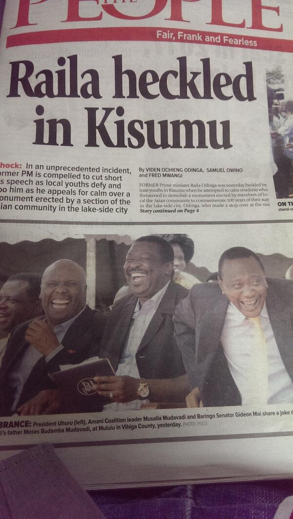 Front Page ya uchokozi! Are they laughing at the headline? LMAO http://t.co/eEXUu4Z101