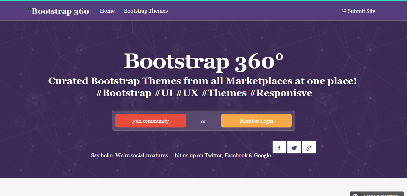 Bootstrap Themes market