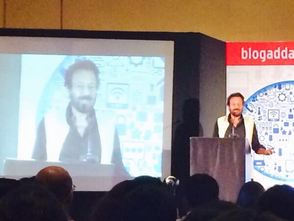 """""""What social media has done, It has taken inertia out of the system."""" Says @shekharkapur #WIN14 http://t.co/GSFG7Dq9xv"""