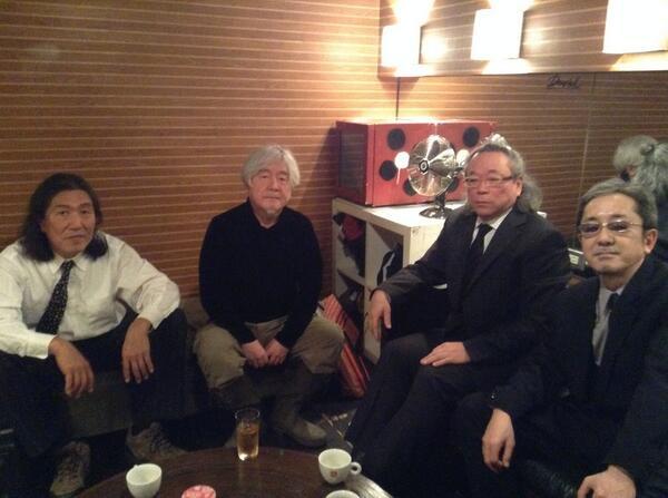 2月8日にムーンライダーズが集まりました。k1 http://t.co/ryAv0SFGSK