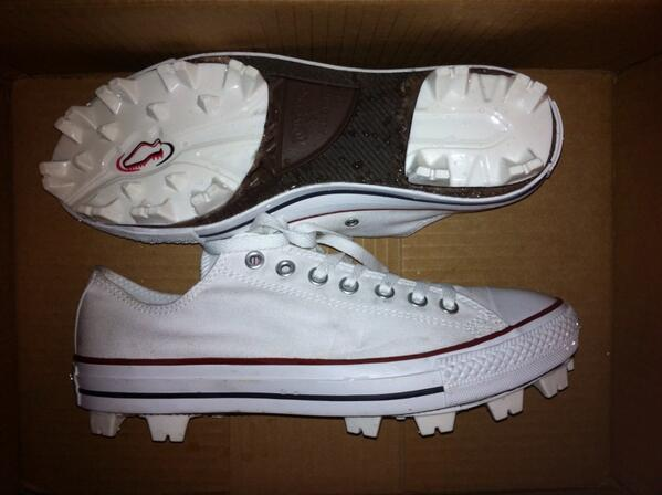 converse metal cleats