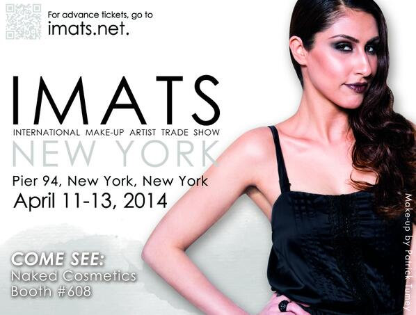 IMATS NY is just around the corner!  Did you get your tickets yet? http://t.co/n4g7oJO2Hu