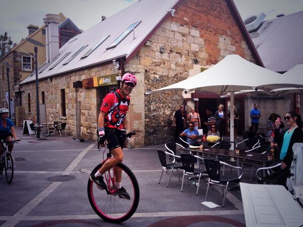 Samuel Johnson arrives in Salamanca at the end of his @loveyoursister ride. Phenomenal effort. http://t.co/zpBexBkiHl