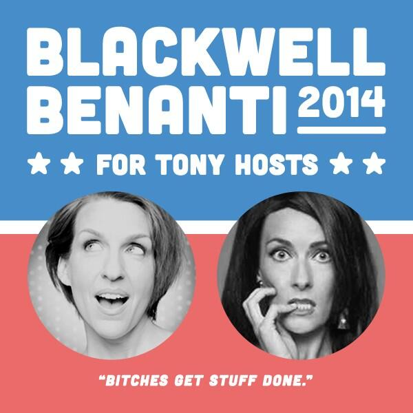I love that y'all have us running on the #BitchesGetThingsDone campaign platform. #Apt @LauraBenanti @Susan_Blackwell http://t.co/hiEfq4jvUq