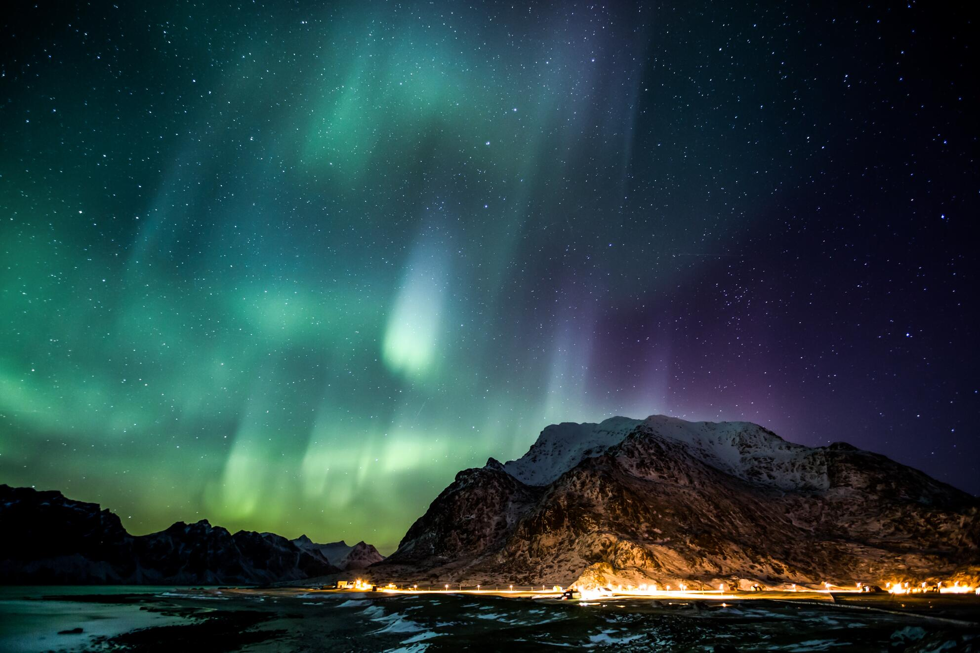 Twitter / zaibatsu: Viking Lights - Aurora over ...