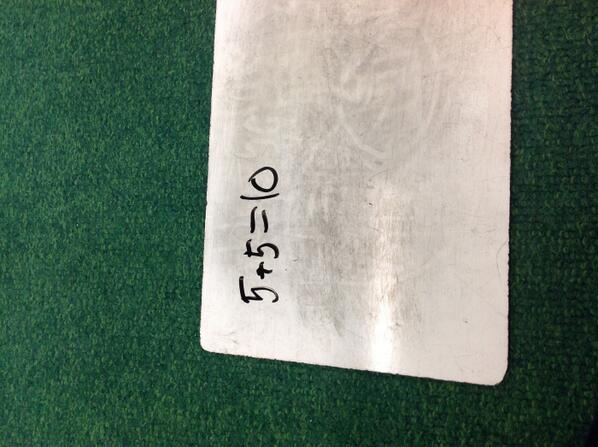 5+5=10 Preston #1stnumbertalks http://t.co/ACOH7Puior