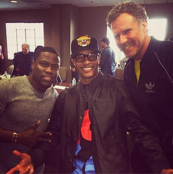 T.I. Confirms New Movie w. Will Ferrell & Kevin Hart