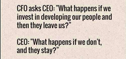 Twitter / paigescox1: Sounds like a smart CEO... ...