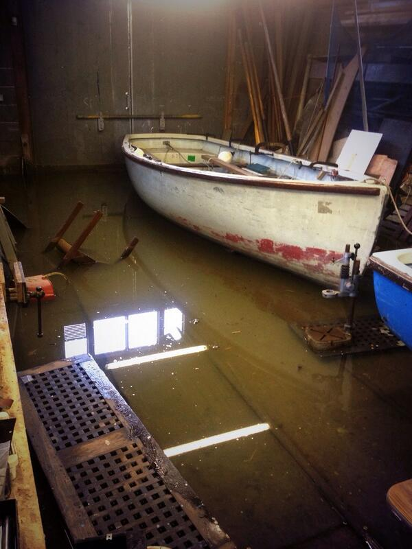 Who even knows how much equipment has been damaged or written off @SeaCadetsUK #flooding #thames http://t.co/U06o85Tjax