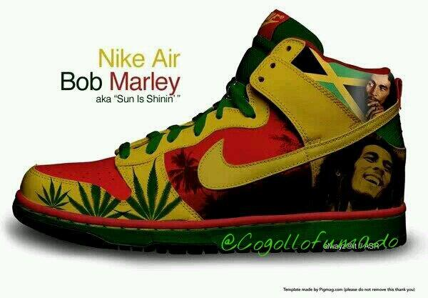 Nike   Rasta Shoes
