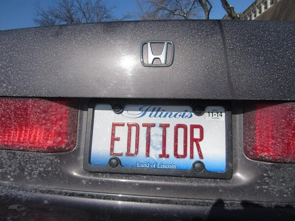 Finally got my license plates! Uh-oh... http://t.co/Xa4owMn4e1