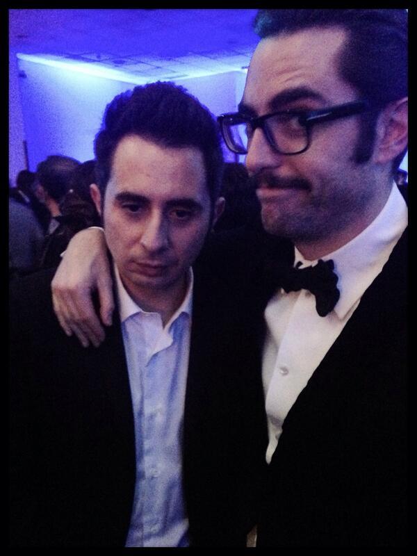 El primer #losersgoya2014 .. @Berto_Romero ! @DaniMateoAgain secó sus lágrimas, poco antes de hacerse esta foto. http://t.co/1bAfMsktZV