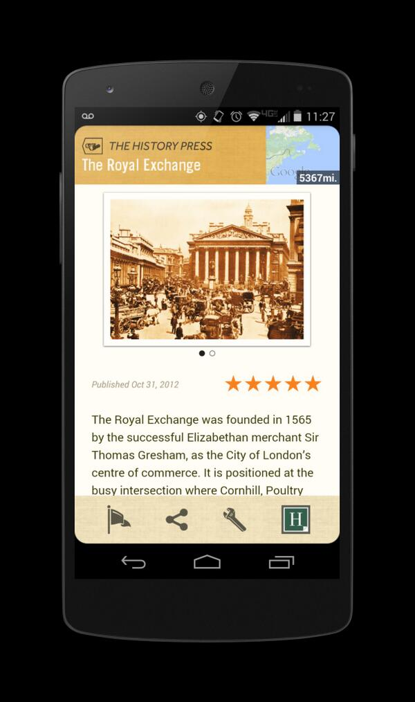 The History Press on Field Trip app