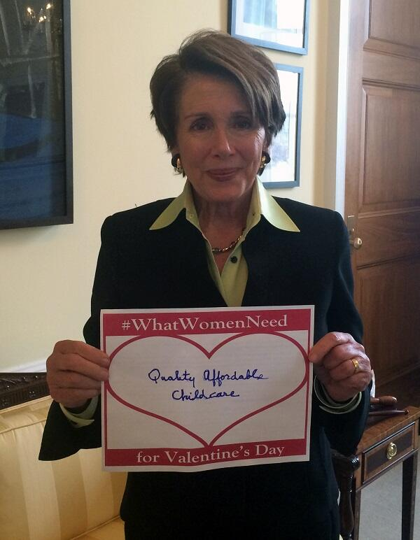 Join House Ds and share your thoughts on #WhatWomenNeed from Congress this Valentine's Day: http://t.co/Tg3jtqMwQj http://t.co/L5uaNqIoTw