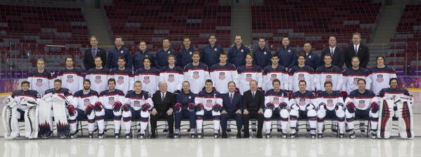 Here they are, America -- your 2014 U.S. Olympic Men's Ice Hockey Team http://t.co/ucKAPynrZS