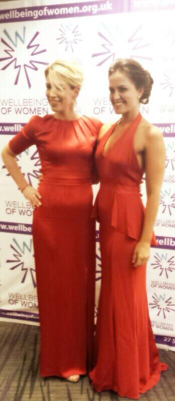 Great evening raising funds for @WellbeingofWmen we loved our @Beulahlondon dresses! http://t.co/MFDab7Dj5a
