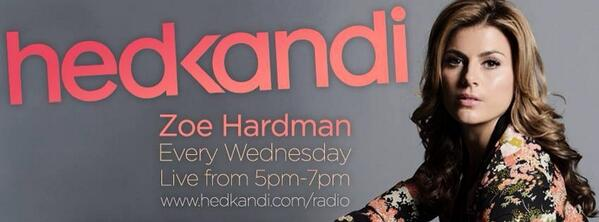 Excited to announce I'll be hosting the new @HedKandi radio show, live every Wednesday from 5pm-7 #welovehousemusic http://t.co/O0mmqEWXUQ