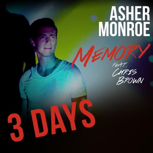 THREE DAYS UNTIL THE RELEASE OF MEMORY FT. @ChrisBrown! http://t.co/Fq8p3lPX4j