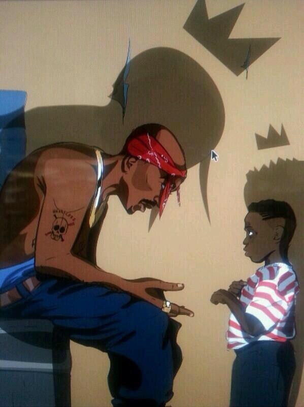 2Pac & Kendrick. http://t.co/ocZlBImehC