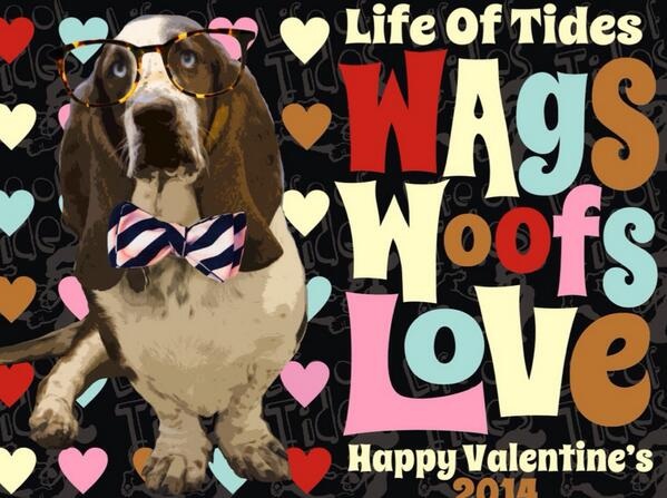 Happy Valentides Week! Tides is hoping you will share the love ... #love  #ValentinesDay #dogs #lovepets http://t.co/h4GzdhI8BR