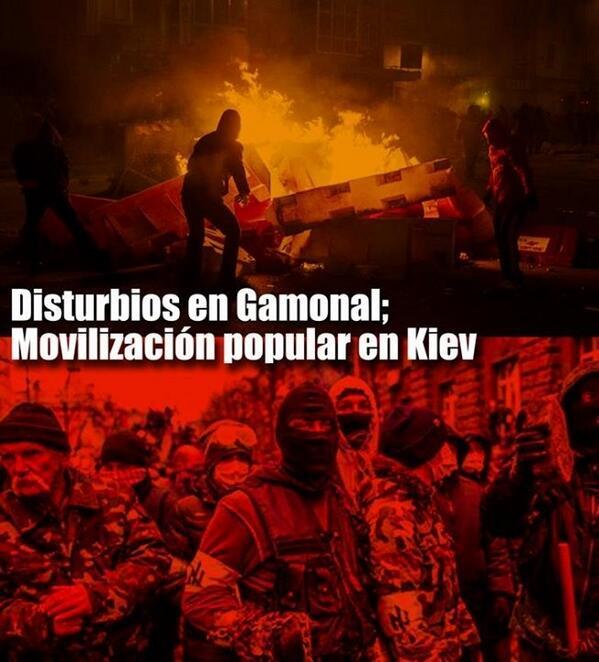[Iniciativa Comunista- IC- Opinión] Disturbios en Gamonal; Movilización popular en Kiev BgM90z1IcAAA85Y