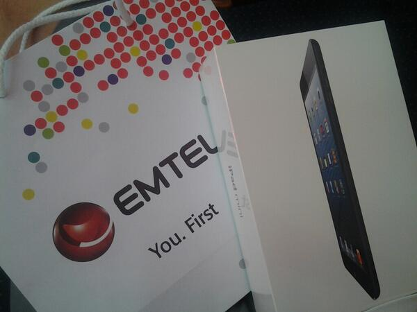 This is just so incredible. Thanks to #Emtel I am going to enjoy a new toy... Let's celebrate 25 years. :-)