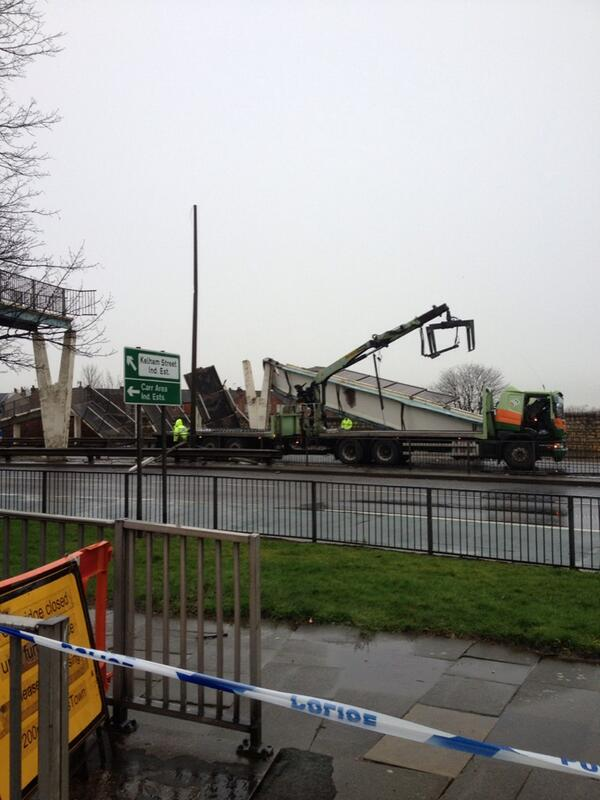 #News Our Reporter Nick has just sent us this image from Cleveland Street in #Doncaster http://t.co/aeDPjXzczm