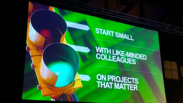 How to make tools like @yammer a success, according to @yammeradam #yamtour http://t.co/PQu3zSIkOI
