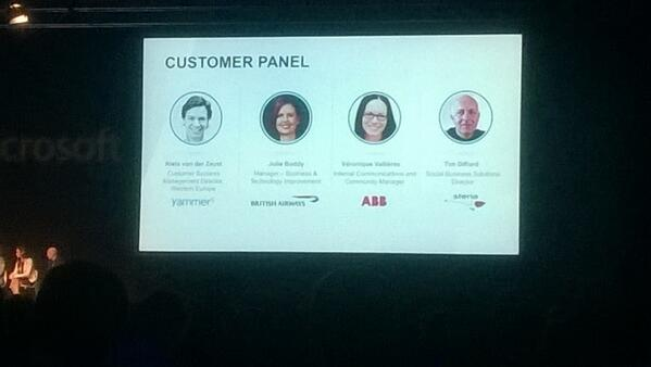 Customer panel at #yamtour quite a lineup of awesome organisations becoming more responsive #responsiveorg http://t.co/pN2FsRpuvw