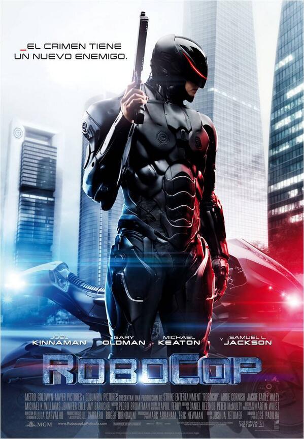 Con pareja o sin ella, te vienes conmigo...#RoboCop en cines, el 14 de Febrero #SanValentín http://t.co/QPP66G0pVr