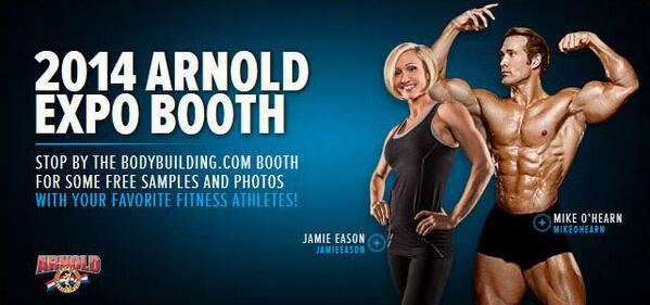 Find out who will be at the @Bodybuildingcom #ASF2014 booth!  http://t.co/9oEzdKxiEh http://t.co/arJGSNY70Y