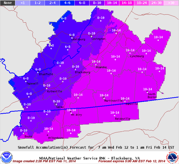 NWS Blacksburg on Twitter:
